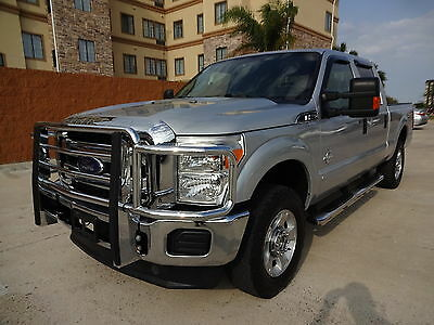 2013 Ford F-250 XLT 2013 Ford Superduty F250 XLT 4x4 Crew Cab 6.7L Powerstroke Turbo Diesel Engine
