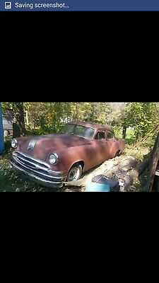 1954 pontiac star chief non running engine and tranny complete. Needs tlc.