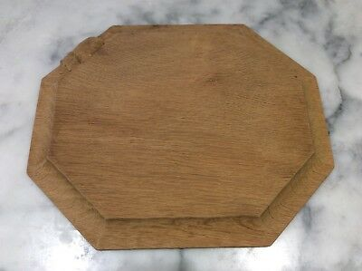 "Robert Thompson ""mouseman"" Bread Board."