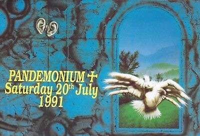 Pandemonium - Rave Flyer 1991 - Mickey Finn, Top Buzz, Simon Bassline Smith