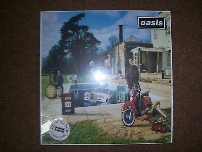 "Oasis ""Be Here Now"" Vinyl 12inch Double Album with Book still shrink wrapped"