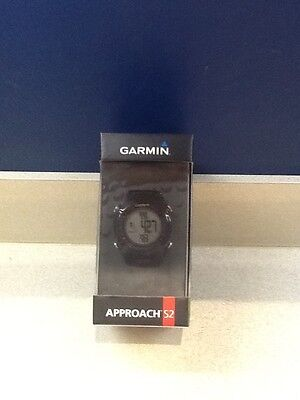 Garmin Approach S2 GPS Fully Loaded With Golf Course Maps Golf Watch Black/Red