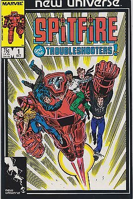 Spitfire and the Troubleshooters #1 (Oct 1986, Marvel) FN