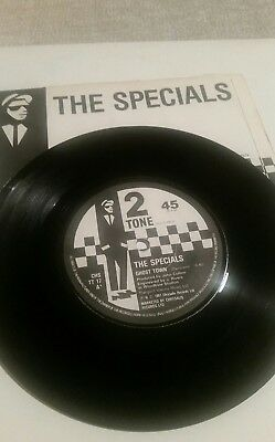 The Specials - Ghost Town. Paper label