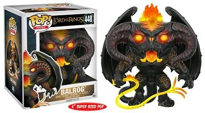 "The Lord of the Rings Balrog 6"" Super Size Pop! Vinyl Figure By Funko"