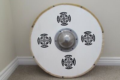 Viking Shiels with Celtic designs