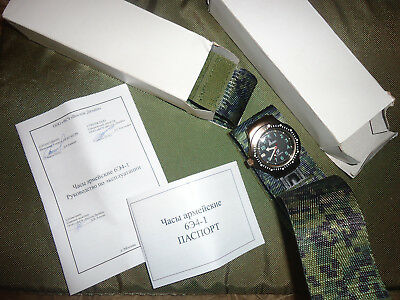 NEW Russian army Ratnik watches model 6e4-1 (waterproof antishock antimagnetic)