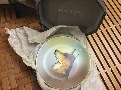 VINTAGE MINTON COLLECTABLE BONE CHINA PIN DISH 11cm diameter MADE IN ENGLAND
