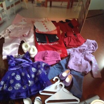 American girl Lot of Clothing & Accessories