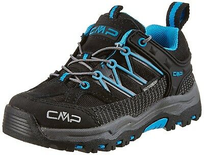 (1 UK, Black (Nero)) - CMP Rigel, Unisex Kids' Low Rise Hiking Shoes