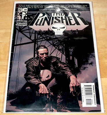 Marvel Comics THE PUNISHER #24 June 2003