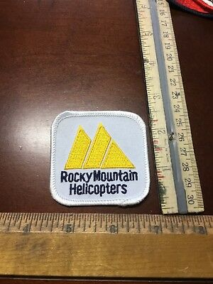 Old Patch- Rocky Mountain Helicopters