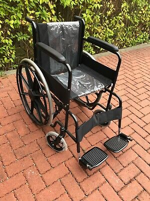 Unused folding wheelchair