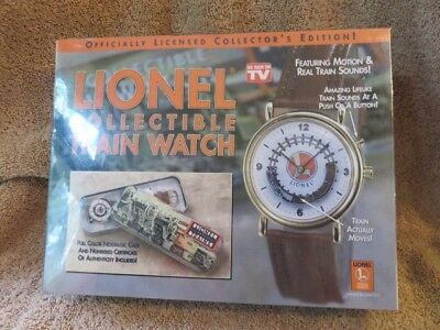 Lionel Collectible Train Watch Still Sealed in Original Wrap.  Early 90's