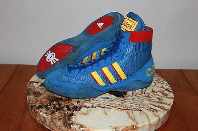 Adidas Chinese Combat Speeds rare wrestling shoes og combats teal cb2