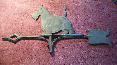 Vintage Scotty Dog Weathervane Arrow