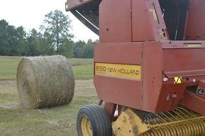 New Holland 4x6 round baler - field tested