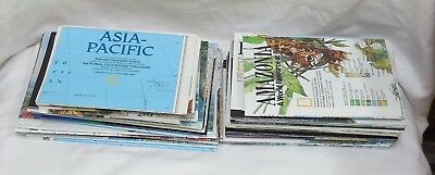 Lot of 52 National Geographic Maps from 1989-2003  MINT CONDITION