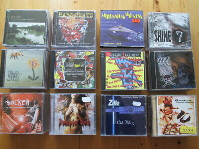 90 CDs Alternative - Punk - Rock - Independent - nur Sampler - SAMMLUNG