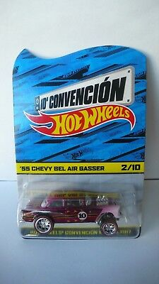 2017 Hot Wheels Mexico 10th Convention '55 Chevy Bel Air Gasser 2/10