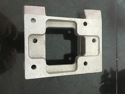 Karts Magnesium Engine Mount With Clamps And Holes