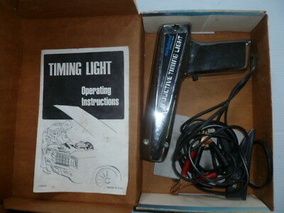 Auto-tune inductive timing light