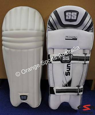 $180 SS MILLENIUM PRO Batting Pad AMBI RIGHT +LEFT Handed Mens Light Wegght 2015