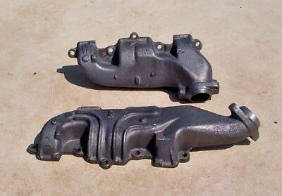 1965-1972 Olds 442 Cutlass 455 W30 H/o  W Z Dual Exhaust Manifolds New Gm