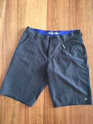 Troy Lee Designs LCQ Crossover Shorts Graphite 2015 Size 34