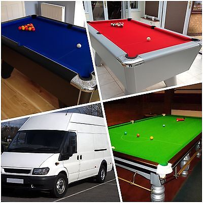 Snooker/Pool Table Delivery/Fitting Service
