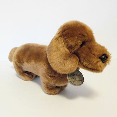 Dachshund weiner dog plush RUSS Yomiko Classics brown stuffed wiener
