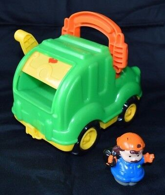 Fisher Price Little People Garbage Truck Set