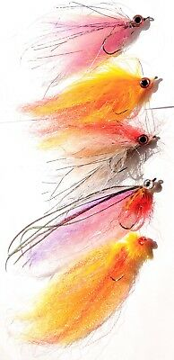 PIKE Saltwater  BAITFISH Fly Articulated Lures Streamer PREDATOR Fly Fishing