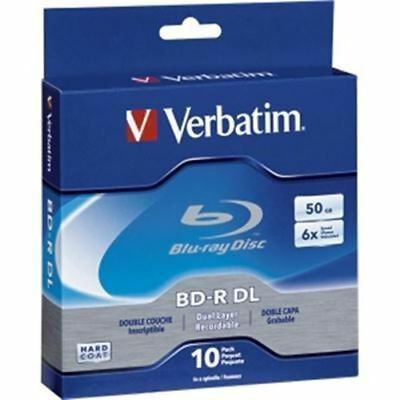 BD-R DL 50GB 6x  Branded 10pk