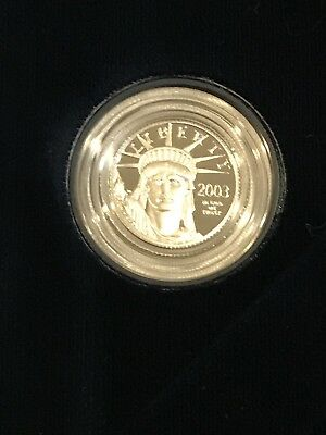 2003-W 1/10 oz PROOF PLATINUM AMERICAN EAGLE