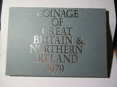 1979 Royal Mint Proof Set Coins For Gb & Ni