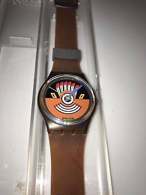 Swatch Watch Ruffled Feathers 1986