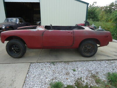 1978 Mg Mgb  1978 Mgb Complete Rolling Body--Clear Title--Rust Free