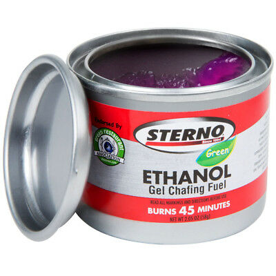 Lot of 24 - Sterno ( 20106 ) 45 Minutes Gel Chafing Dish Fuel Canister