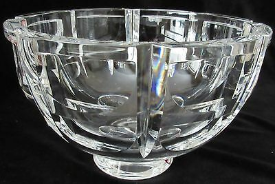 "PRISTINE SIMON GATES DESIGN - ORREFORS, SWEDEN ""Thousand Windows"" ART GLASS BOWL"
