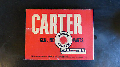 Carter carburetor parts genuine vintage