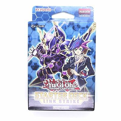 YuGiOh! Starter Deck Link Strike 1st Edition Contains Link Monsters