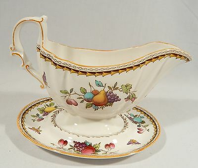Spode ROCKINGHAM China SAUCE GRAVY BOAT & UNDERPLATE  NOT ONE PIECE Y5194