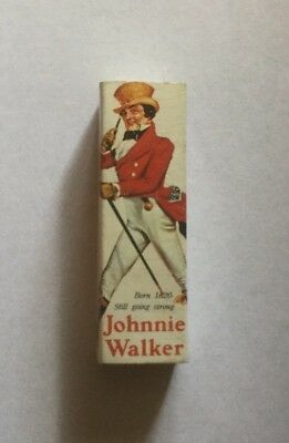 Collectable Matchbox - Johnnie Walker Old Scotch Whiskey - Ad match Co Sydney