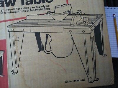 New Craftsman Router Jig Saw Table