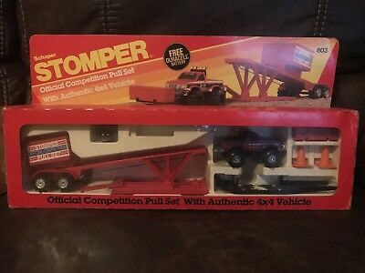 Schaper Stomper Official Competition Pull Set In Original Box