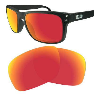 3e35254fb4 NEW FIRE RED Mirrored Replacement Oakley Holbrook Lenses - £16.99 ...