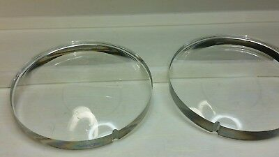 Semi Finished Vision Ease lenses White Flat Top Lot of  10 Pairs NOS Bifocal