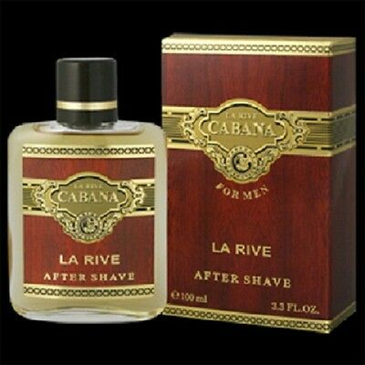 La Rive Cabana After Shave Men Fragrance New Sealed Box 3.4oz / 100ml