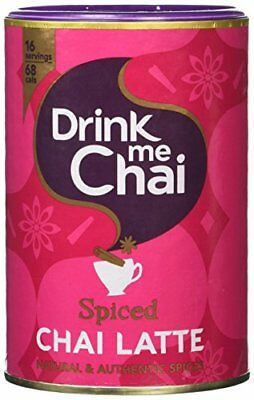 Drink Me Chai Spiced Chai Latte 250 g  Pack of 6